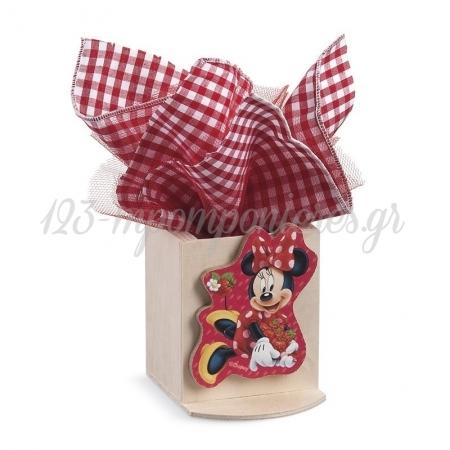 Ξυλινη Μολυβοθηκη Minnie Φραουλες - ΚΩΔ:Na167-Pr