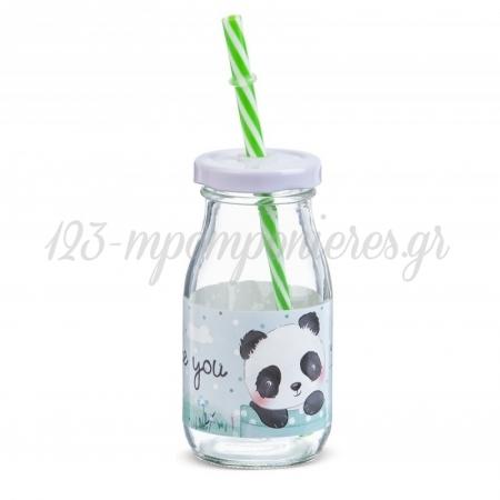 Γυαλινο Μπουκαλι Γαλακτος Panda 200Ml - ΚΩΔ:Sr955-Pr