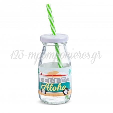 Γυαλινο Μπουκαλι Γαλακτος Aloha 200Ml - ΚΩΔ:Sr972-Pr