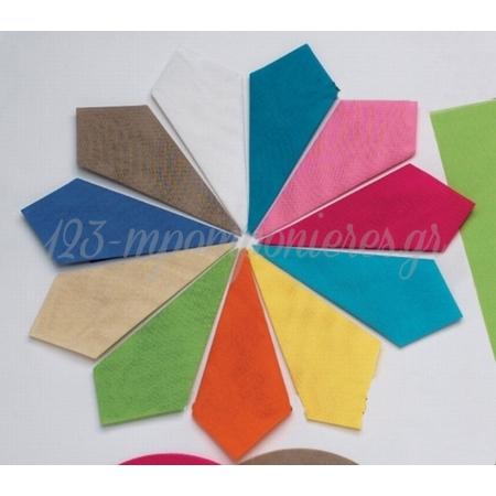 Γαζα Κολλαρισμενη Τετραγωνη 25X25 Cm ΚΩΔ: 30810-25