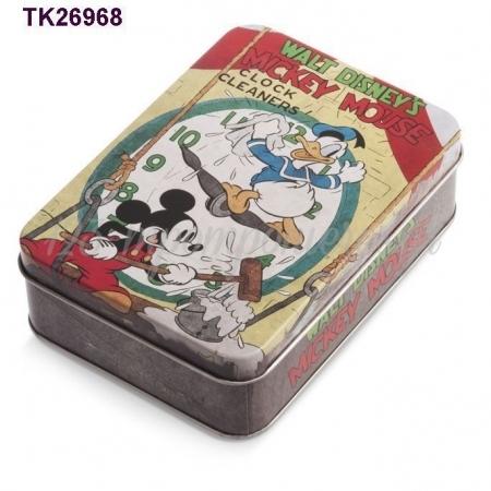 Disney Mickey Mouse Μεταλλικη Κασετινα 4,1Χ10,5Χ14,5 Εκατ. - ΚΩΔ: Tk26968-Pr