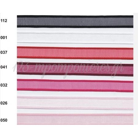 Κορδελα Οργαντζα Με Σατεν Ρελι 6Mm / 50Μ Σειρα Orms - ΚΩΔ: 232-6