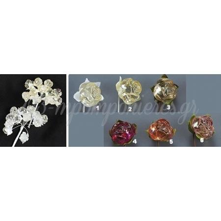 Λουλουδια Ακρυλικα - ΚΩΔ: Ka5676-Nu