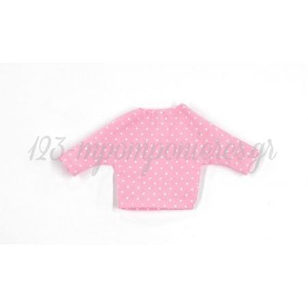 Μπλουζακι Πουα Ροζ 17X9Cm - ΚΩΔ: 508012