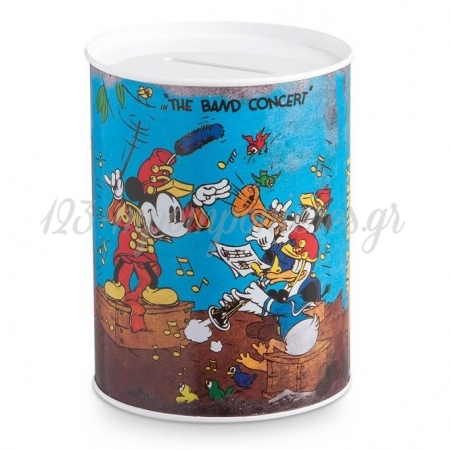 Mickey Mouse Μεταλλικος Κουμπαρας 7,8Χ10,3 Εκατ. - ΚΩΔ: Tm13067-Pr
