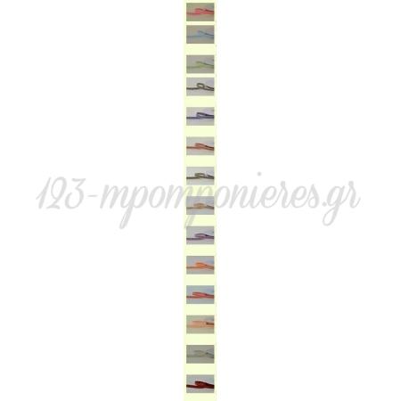 Κορδελα Υφασματινη Ριγε Διχρωμη 9Mm - 20Μ - ΚΩΔ: Rg009020