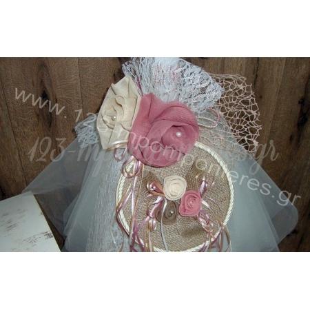 Βαπτιστικα Vintage Λουλουδια - ΚΩΔ.:K110-123