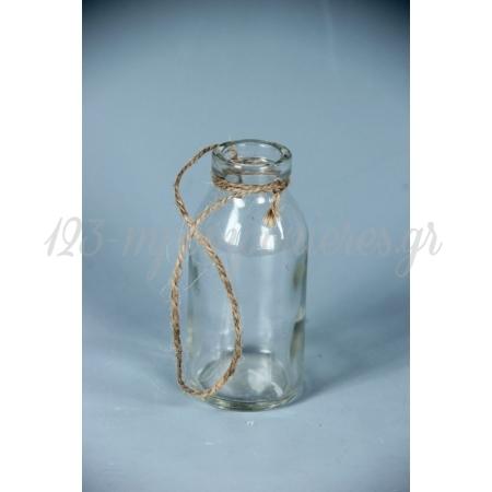 Γυαλινο Μπουκαλακι 10 Εκατ. Με Σπαγκο - ΚΩΔ:A13579-Ra