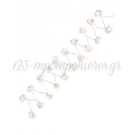 Φωτιζομενη Γιρλαντα Με Λουλουδια - 3Μ - ΚΩΔ:Blos-Lights-Jp
