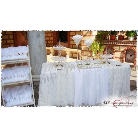 Στολισμός Γαμοβάπτισης Με Κάλλες - Αγ. Κωνσταντίνος Ηλιούπολη - ΚΩΔ:Za-1211